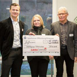 Spende von JULABO-Stiftung Seelbach